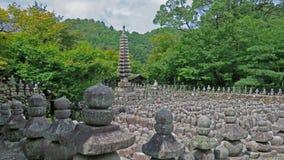 Adashino Nenbutsu ji in Arashiyama, Kyoto Stock Image