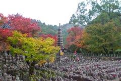 Adashino Nenbutsuji temple, Kyoto Japan Stock Photo
