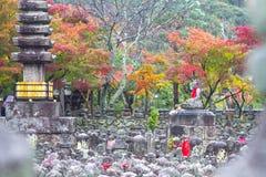 Adashino Nenbutsuji temple, Kyoto Japan Royalty Free Stock Photos