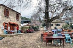 Adatepe-Dorf Stockbild