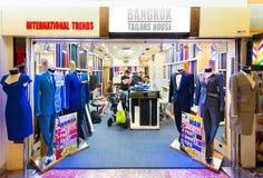 Adattamento del negozio al centro di MBK, Bangkok fotografia stock libera da diritti