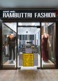 Adattamento del negozio, Bangkok fotografie stock