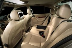 Adattamento dell'interiore dell'automobile del progettista Immagine Stock Libera da Diritti