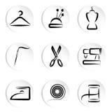 Adattamento delle icone Immagine Stock Libera da Diritti