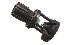 Adattatore isolato del tubo dello spruzzatore Fotografia Stock