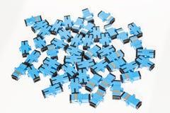 Adattatore ottico per Internet Fotografia Stock