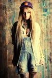 Adatti i jeans Fotografie Stock Libere da Diritti