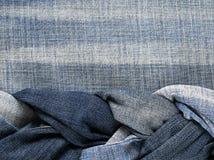 Adatti il fondo strutturato alla moda del tessuto nell'ambito del ` s dell'iscrizione Immagini Stock Libere da Diritti