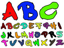 ADB Hand Drawn Fat Brush 2 Royalty Free Stock Photo