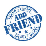 Add friend Stock Image