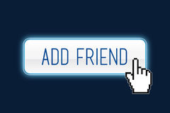 Add friend Stock Photo