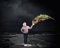 Add some color to your life Stock Images