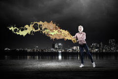Add some color to your life Royalty Free Stock Photography