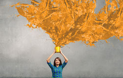 Add some color Royalty Free Stock Photo