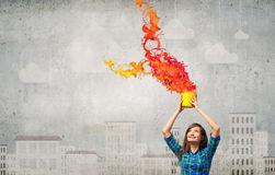 Add some color Royalty Free Stock Photography