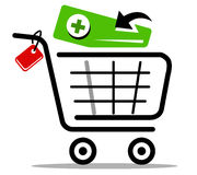 Add to cart. Vector icon Stock Images
