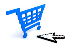 Add to cart button Royalty Free Stock Images