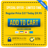 Add To Cart button Royalty Free Stock Photos