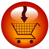 Add to cart icon Royalty Free Stock Image