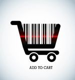 Add to cart Royalty Free Stock Photography