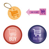 Add to cart Royalty Free Stock Images
