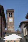 ` Adda Cremona, Italia de Rivolta d: calle vieja imágenes de archivo libres de regalías