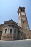 ` Adda Cremona, Italia de Rivolta d: San Sigismondo, iglesia medieval Imágenes de archivo libres de regalías