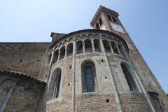 ` Adda Cremona, Italien Rivolta d: San Sigismondo, mittelalterliche Kirche Stockfotos