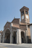 ` Adda Cremona, Italien Rivolta d: San Sigismondo, mittelalterliche Kirche Stockfoto