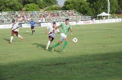 Adda Djeziri Vs Republic FC Lizenzfreie Stockfotos