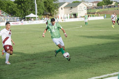 Adda Djeziri Vs Republic FC Lizenzfreie Stockbilder