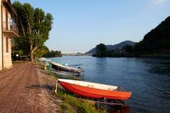 Adda-Fluss Lizenzfreie Stockfotografie