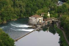 Adda-Fluss Lizenzfreies Stockfoto