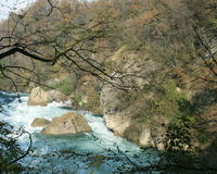 Adda river stock image
