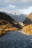 Adda river - Italy Royalty Free Stock Photo