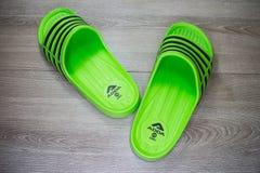 ADDA Shoe, Product of thailand. Chiangmai, Thailand - April 28 2019: ADDA Shoe, Product of thailand by adda footware Company athletic background casual clothing stock image