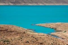 Addakhil de al-hassan del lago en Errachidia Marruecos Fotos de archivo libres de regalías