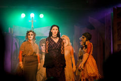 The Addams family productions. The Addams family production in Dungarvan, county Waterford in 2014. Ireland Stock Photo
