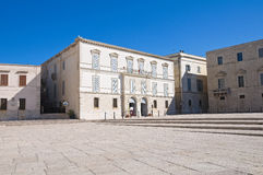 Addazi palace. Trani. Puglia. Italy. Stock Image