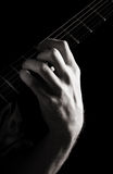 Added ninth minor chord (Dm-add9) Stock Photos