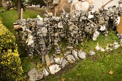Adder Stones Flint Stones Royalty Free Stock Photo