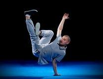 Addestramento del ballerino della rottura Fotografie Stock