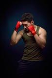 Addestramento del giovane del muscolo Immagine Stock