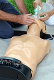 Addestramento del pronto soccorso Fotografia Stock