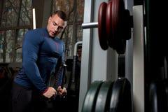 Addestramento dell'atleta Fotografia Stock