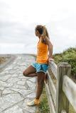 Addestramento della donna dell'atleta Immagini Stock Libere da Diritti