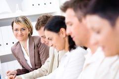 Addestramento di affari Immagine Stock