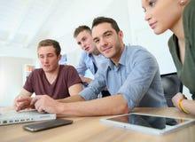 Addestramento di affari nell'aula Immagine Stock Libera da Diritti