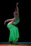 Addestramento di base di ballo di DAI--Danza popolare cinese Immagine Stock Libera da Diritti
