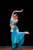 Addestramento di base di ballo di DAI--Danza popolare cinese Immagine Stock